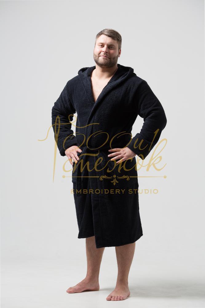 Мужской халат с капюшоном категории