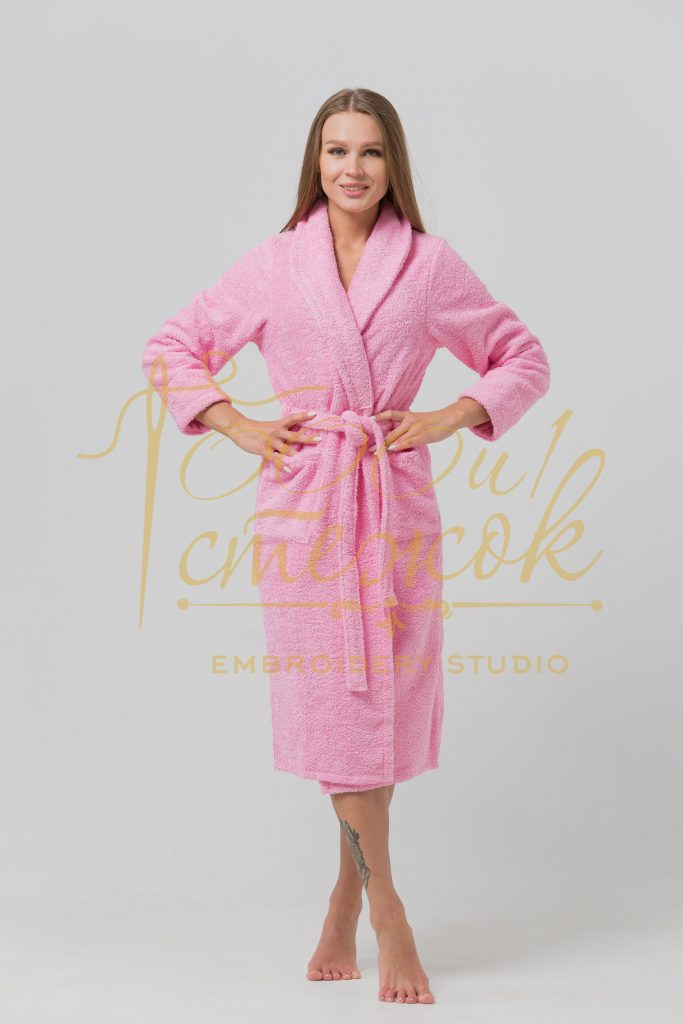 Женский халат без капюшона категории